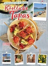 Titelbild der Ausgabe 2/2019 von Schlemmen wie in Spanien: Köstliche Tapas. Zeitschriften als Abo oder epaper bei United Kiosk online kaufen.