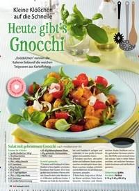 Titelbild der Ausgabe 2/2019 von Kleine Klößchen auf die Schnelle: Heute gibt's Gnocchi. Zeitschriften als Abo oder epaper bei United Kiosk online kaufen.