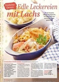 Titelbild der Ausgabe 3/2019 von Festlicher Genuss: Edle Leckereien mit Lachs. Zeitschriften als Abo oder epaper bei United Kiosk online kaufen.