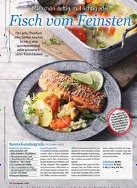 Titelbild der Ausgabe 1/2020 von Mal schön deftig, mal richtig edel: Fisch vom Feinsten. Zeitschriften als Abo oder epaper bei United Kiosk online kaufen.