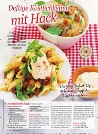 Titelbild der Ausgabe 2/2020 von Deftige Köstlichkeiten mit Hack. Zeitschriften als Abo oder epaper bei United Kiosk online kaufen.