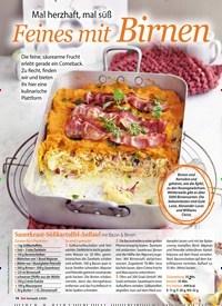 Titelbild der Ausgabe 2/2020 von Mal herzhaft, mal süß Feines mit Birnen. Zeitschriften als Abo oder epaper bei United Kiosk online kaufen.
