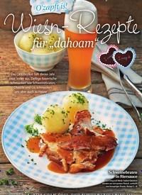"""Titelbild der Ausgabe 2/2020 von O'zapft is!: Wiesn-Rezepte für """"dahoam"""". Zeitschriften als Abo oder epaper bei United Kiosk online kaufen."""