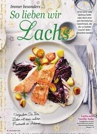 Titelbild der Ausgabe 3/2020 von Immer besonders … So lieben wir Lachs. Zeitschriften als Abo oder epaper bei United Kiosk online kaufen.