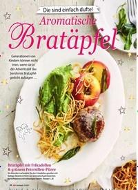 Titelbild der Ausgabe 3/2020 von Die sind einfach dufte!: Aromatische Bratäpfel. Zeitschriften als Abo oder epaper bei United Kiosk online kaufen.