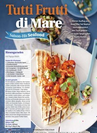 Titelbild der Ausgabe 2/2021 von Tutti Frutti di Mare Saison-Hit Seafood. Zeitschriften als Abo oder epaper bei United Kiosk online kaufen.