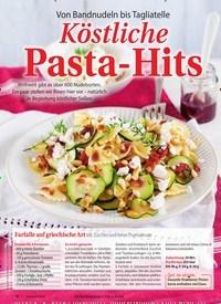 Titelbild der Ausgabe 2/2021 von Köstliche Pasta-Hits. Zeitschriften als Abo oder epaper bei United Kiosk online kaufen.