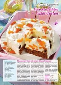 Titelbild der Ausgabe 1/2019 von Ein wahrer Augenschmaus: Verlockend schöne Oster-Torten. Zeitschriften als Abo oder epaper bei United Kiosk online kaufen.