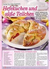 Titelbild der Ausgabe 1/2019 von 3Perfek t fürs Oster-Frühstück: Hefekuchen und süße Teilchen. Zeitschriften als Abo oder epaper bei United Kiosk online kaufen.