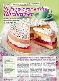 Titelbild der Ausgabe 1/2019 von Als Kompott, Konfitüre, aber auch als Kuchen ein Hit! Nichts wie ran an den Rhabarber. Zeitschriften als Abo oder epaper bei United Kiosk online kaufen.