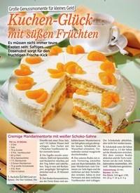 Titelbild der Ausgabe 1/2019 von Große Genussmomente für kleines Geld: Kuchen-Glück mit süßen Früchten. Zeitschriften als Abo oder epaper bei United Kiosk online kaufen.