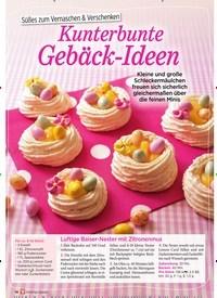 Titelbild der Ausgabe 1/2019 von Süßes zum Vernaschen & Verschenken:Kunterbunte Gebäck-Ideen. Zeitschriften als Abo oder epaper bei United Kiosk online kaufen.