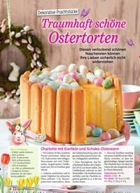 Titelbild der Ausgabe 1/2020 von Dekorative Prachtstücke: Traumhaft schöne Ostertorten. Zeitschriften als Abo oder epaper bei United Kiosk online kaufen.