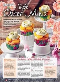 Titelbild der Ausgabe 1/2020 von Klein aber oho: Süße Oster-Minis. Zeitschriften als Abo oder epaper bei United Kiosk online kaufen.