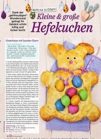 Titelbild der Ausgabe 1/2020 von Nicht nur zu Ostern: Kleine & große Hefekuchen. Zeitschriften als Abo oder epaper bei United Kiosk online kaufen.