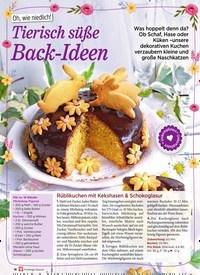 Titelbild der Ausgabe 1/2020 von Oh, wie niedlich! Tierisch süße Back-Ideen. Zeitschriften als Abo oder epaper bei United Kiosk online kaufen.