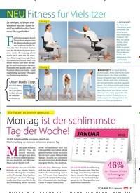 Titelbild der Ausgabe 1/2018 von NEU Fitness für Vielsitzer. Zeitschriften als Abo oder epaper bei United Kiosk online kaufen.