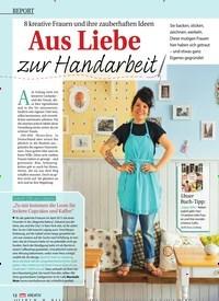 Titelbild der Ausgabe 1/2017 von 8 kreative Frauen und ihre zauberhaften Ideen: Aus Liebe zur Handarbeit. Zeitschriften als Abo oder epaper bei United Kiosk online kaufen.