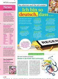 Titelbild der Ausgabe 21/2018 von Im Gespräch: News Kurz & Knapp. Zeitschriften als Abo oder epaper bei United Kiosk online kaufen.