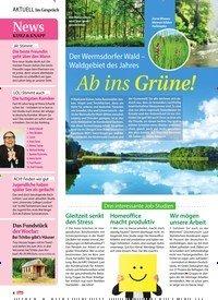 Titelbild der Ausgabe 22/2018 von Im Gespräch: News Kurz & Knapp. Zeitschriften als Abo oder epaper bei United Kiosk online kaufen.