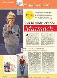 Titelbild der Ausgabe 25/2018 von Topthema: Große Serie: Einfach besser leben!: 12. Teil: Vier beeindruckende Mutmach-Geschichten. Zeitschriften als Abo oder epaper bei United Kiosk online kaufen.
