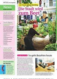 Titelbild der Ausgabe 28/2018 von Im Gespräch: News: KURZ & KNAPP. Zeitschriften als Abo oder epaper bei United Kiosk online kaufen.