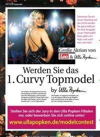 Titelbild der Ausgabe 30/2018 von Aktion Topmodel: Große Aktion von ulla Popken: Werden Sie das 1. Curvy Topmodel. Zeitschriften als Abo oder epaper bei United Kiosk online kaufen.