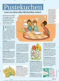 Titelbild der Ausgabe 31/2018 von Pustekuchen: Lasst uns diese alten Wortschätze retten!. Zeitschriften als Abo oder epaper bei United Kiosk online kaufen.