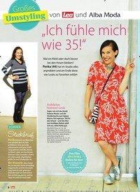 """Titelbild der Ausgabe 34/2018 von Großes Umstyling von Lea und Alba Moda """"Ich fühle mich wie 35!"""". Zeitschriften als Abo oder epaper bei United Kiosk online kaufen."""