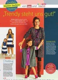 """Titelbild der Ausgabe 38/2018 von Großes Mutter-Tochter Styling: """"Trendy steht uns gut!"""". Zeitschriften als Abo oder epaper bei United Kiosk online kaufen."""