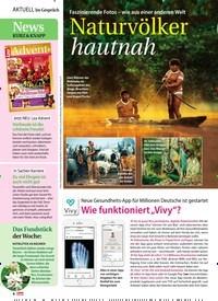 Titelbild der Ausgabe 40/2018 von Faszinierende Fotos – wie aus einer anderen Welt: Naturvölker hautnah. Zeitschriften als Abo oder epaper bei United Kiosk online kaufen.