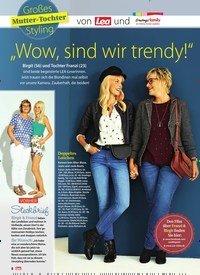 """Titelbild der Ausgabe 40/2018 von Großes Mutter-Tochter Styling: von und """"Wow, sind wir trendy!"""". Zeitschriften als Abo oder epaper bei United Kiosk online kaufen."""
