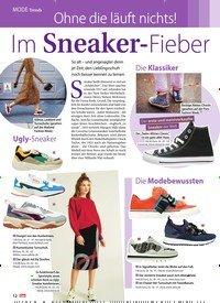 Titelbild der Ausgabe 44/2018 von Trends: Ohne die läuft nichts! Im Sneaker-Fieber. Zeitschriften als Abo oder epaper bei United Kiosk online kaufen.