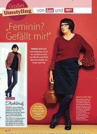 """Titelbild der Ausgabe 52/2018 von Großes Umstyling: """"Feminin? Gefällt mir!"""". Zeitschriften als Abo oder epaper bei United Kiosk online kaufen."""