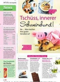Titelbild der Ausgabe 6/2019 von Tschüss, innerer Schweinehund!. Zeitschriften als Abo oder epaper bei United Kiosk online kaufen.