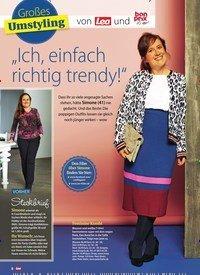 """Titelbild der Ausgabe 6/2019 von Großes Umstyling: """"Ich, einfach richtig trendy!"""". Zeitschriften als Abo oder epaper bei United Kiosk online kaufen."""