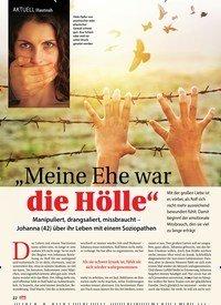 """Titelbild der Ausgabe 6/2019 von AKTUELL Hautnah: """"Meine Ehe war die Hölle"""". Zeitschriften als Abo oder epaper bei United Kiosk online kaufen."""