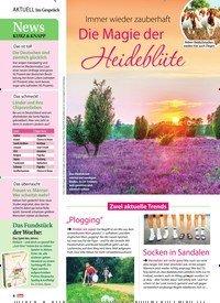 Titelbild der Ausgabe 32/2019 von Immer wieder zauberhaft: Die Magie der Heideblüte. Zeitschriften als Abo oder epaper bei United Kiosk online kaufen.