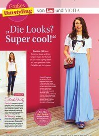"""Titelbild der Ausgabe 32/2019 von Großes Umstyling: """"Die Looks? Super cool!"""". Zeitschriften als Abo oder epaper bei United Kiosk online kaufen."""