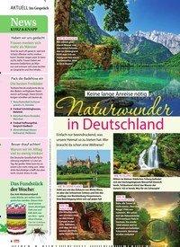 Titelbild der Ausgabe 33/2019 von Im Gespräch: Keine lange Anreise nötig Naturwunder in Deutschland. Zeitschriften als Abo oder epaper bei United Kiosk online kaufen.