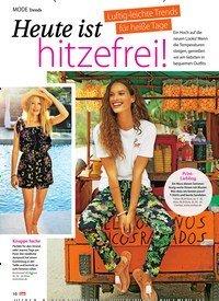 Titelbild der Ausgabe 33/2019 von Luftig-leichte Trends für heiße Tage: Heute ist hitzefrei!. Zeitschriften als Abo oder epaper bei United Kiosk online kaufen.