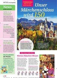 Titelbild der Ausgabe 45/2019 von 5 Geheimnisse – die Sie noch nicht kannten: Unser Märchenschloss wird 150. Zeitschriften als Abo oder epaper bei United Kiosk online kaufen.