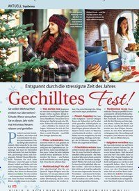 Titelbild der Ausgabe 50/2019 von Topthema: Entspannt durch die stressigste Zeit des Jahres: Gechilltes Fest!. Zeitschriften als Abo oder epaper bei United Kiosk online kaufen.