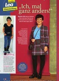 """Titelbild der Ausgabe 4/2020 von Großes Lea Umstyling: """"Ich, mal ganz anders!"""". Zeitschriften als Abo oder epaper bei United Kiosk online kaufen."""