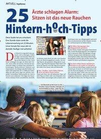 Titelbild der Ausgabe 4/2020 von Topthema: 25Ärzte schlagen Alarm: Sitzen ist das neue Rauchen Hintern-hoch-Tipps. Zeitschriften als Abo oder epaper bei United Kiosk online kaufen.
