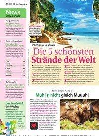 Titelbild der Ausgabe 12/2020 von Kleine Kuh-Kunde: Muh ist nicht gleich Muuuh!. Zeitschriften als Abo oder epaper bei United Kiosk online kaufen.