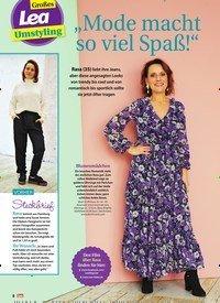 """Titelbild der Ausgabe 12/2020 von Großes Lea Umstyling: """"Mode macht so viel Spaß!"""". Zeitschriften als Abo oder epaper bei United Kiosk online kaufen."""