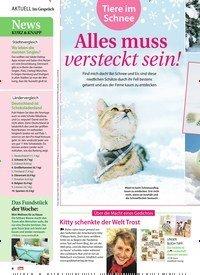 Titelbild der Ausgabe 1/2021 von Im Gespräch: Tiere im Schnee: Alles muss versteckt sein!. Zeitschriften als Abo oder epaper bei United Kiosk online kaufen.