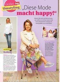 """Titelbild der Ausgabe 15/2021 von """"Diese Mode macht happy!"""". Zeitschriften als Abo oder epaper bei United Kiosk online kaufen."""