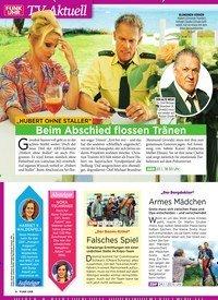 """Titelbild der Ausgabe 3/2019 von TV-Aktuell: """"HUBERT OHNE STALLER"""": Beim Abschied flossen Tränen. Zeitschriften als Abo oder epaper bei United Kiosk online kaufen."""